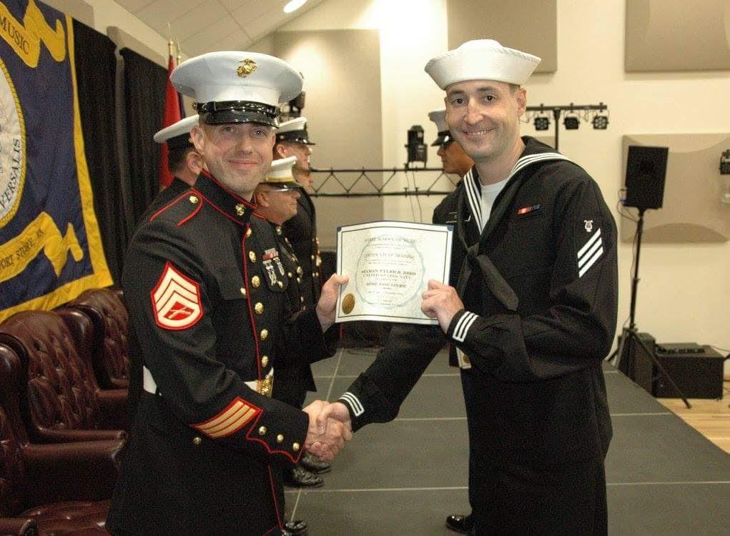 Graduation U.S. Navy School of Music