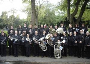 Brass Band, Littleborough, Cornet, Whit Friday