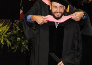 Dr. Reed, Graduation, Hooding