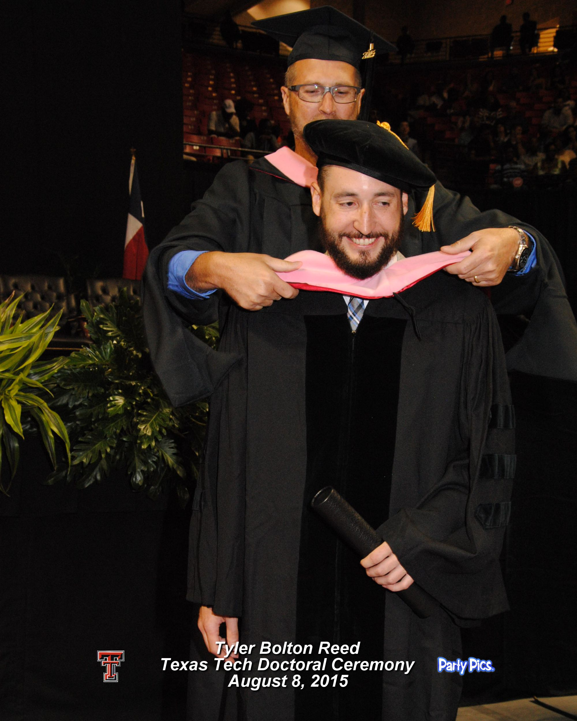 Dr. Reed, Graduation, Hooding