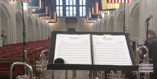 Chuck Seipp, Tyler Reed, trumpet