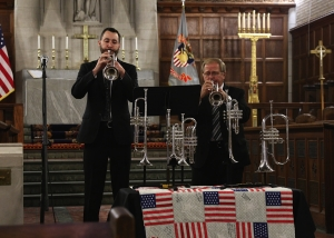 Chuck Seipp, Tyler Reed, trumpet, westpoint